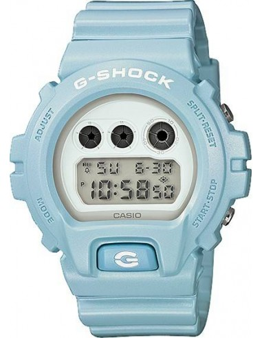 Chic Time   Montre Homme Casio G-Shock DW-6900SG-2ER Bleu    Prix : 89,90€