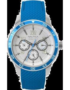Chic Time | Montre Femme Nautica NCT 405 A15636M Bracelet bleu en silicone  | Prix : 155,00€