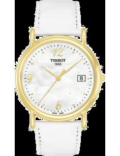 Chic Time | Montre Femme Tissot T-Gold Carson T71342974 Cadran nacré  | Prix : 1,100.00
