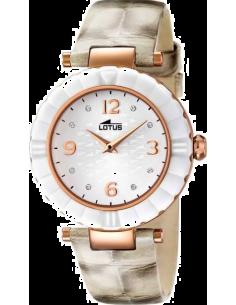 Chic Time | Montre Femme Lotus Trendy L15912/2 Bracelet en cuir bicolore  | Prix : 94,90€