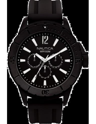 Chic Time   Montre Homme Nautica NSR 05 A17594G Bracelet et cadran noirs    Prix : 127,00€