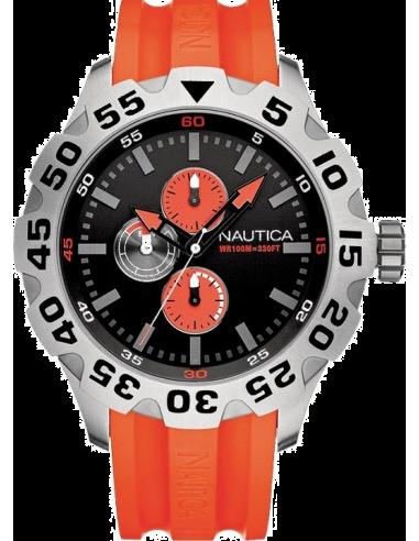 Chic Time | Montre Homme Nautica BFD 100 A15565G Cadran noir  | Prix : 195,00€