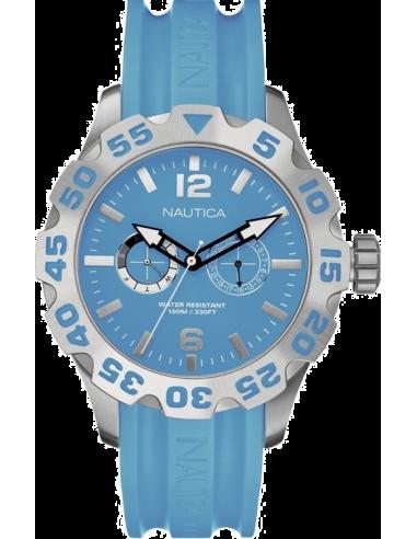 Chic Time   Montre Homme Nautica BFD 100 A16607G Bracelet et cadran bleus    Prix : 185,00€