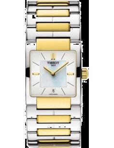 Chic Time | Montre Femme Tissot T02 T0903102211100 Bracelet en acier bicolore  | Prix : 225,00€