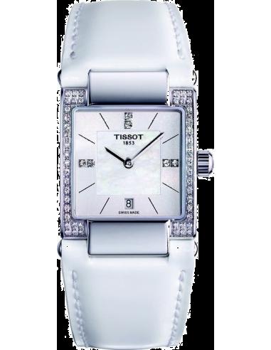Chic Time   Montre Femme Tissot T02 T0903106611600 Diamants sur le boîtier    Prix : 1,035.00