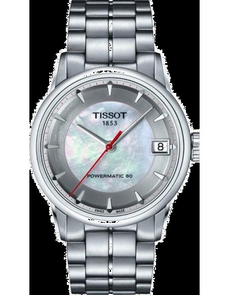 Chic Time | Montre Femme Tissot Luxury Automatic Asian Games 2014 T0862071111101 Bracelet en acier argenté  | Prix : 775,00€