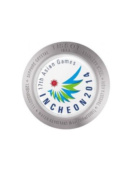 Chic Time   Montre Femme Tissot PR 100 Automatic Asian Games 2014 T0493071103701 à Cadran blanc    Prix : 441,60€