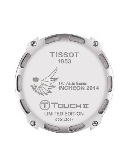 Chic Time   Montre Homme Tissot T-Touch II Asian Games 2014 T0474204720702 Ecran digital/analogique    Prix : 762,00€