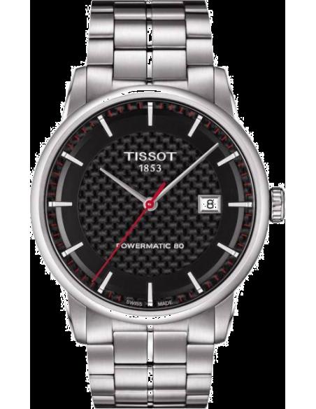 Chic Time   Montre Homme Tissot Luxury Automatic Asian Games 2014 T0864071120100 Bracelet en acier argenté    Prix : 730,80€