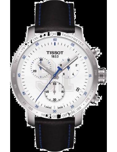 Chic Time | Montre Homme Tissot PRC 200 Steven Stamkos 2014 T0554171601100 Bracelet en cuir noir  | Prix : 468,00€