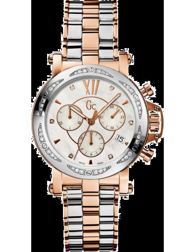 Chic Time   Montre Femme GC Guess Collection Precious X73107M1S Lunette ornée de diamants    Prix : 1,589.90
