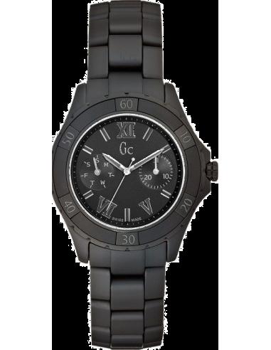 Chic Time   Montre Femme GC Guess Collection Sport Class XL-S X69020L2S Bracelet en céramique noire    Prix : 799,00€