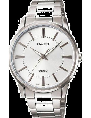 Chic Time | Montre Homme Casio Collection MTP-1303D-7AVEF Argent  | Prix : 35,00€