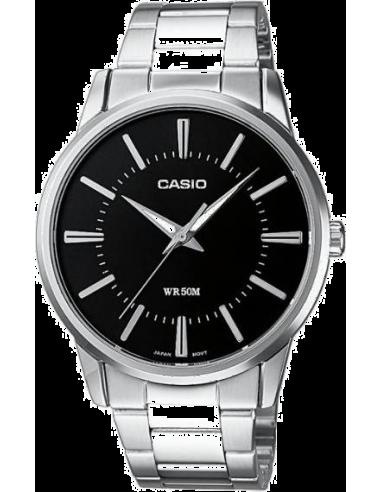 Chic Time | Montre Homme Casio Collection MTP-1303D-1AVEF Argent  | Prix : 35,00€