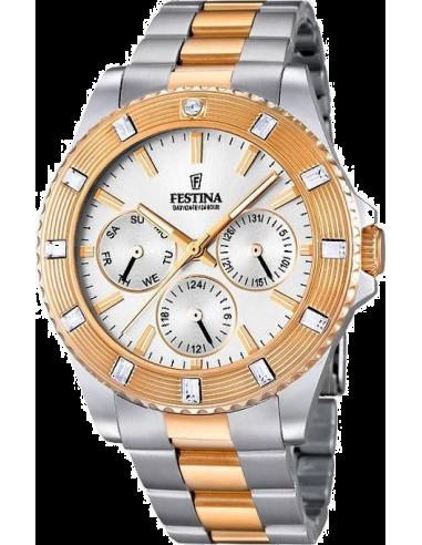 Chic Time   Montre Femme Festina Boyfriend F16695/1 Bracelet en acier bicolore    Prix : 37,25€