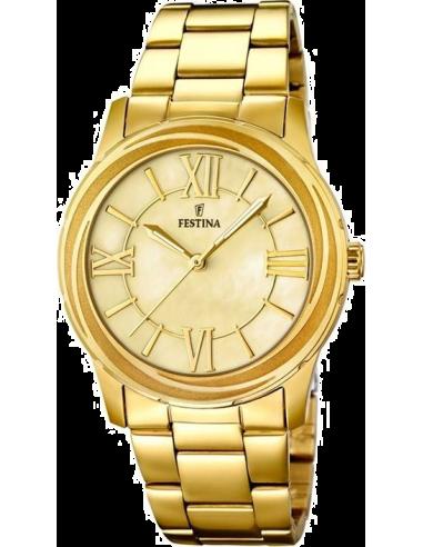 Chic Time | Montre Femme Festina Mademoiselle F16724/2 Bracelet en acier doré  | Prix : 29,75€