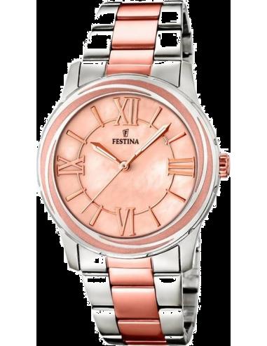 Chic Time   Montre Femme Festina Mademoiselle F16723/2 Bracelet en acier bicolore    Prix : 119,00€