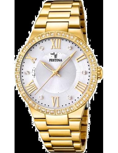 Chic Time | Montre Femme Festina Mademoiselle F16720/1 Bracelet en acier doré  | Prix : 32,25€