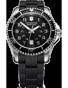 Chic Time | Montre Homme Victorinox Swiss Army Maverick 241435 Bracelet et cadran noirs  | Prix : 450,00€