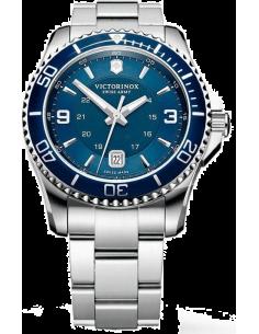 Chic Time | Montre Homme Victorinox Swiss Army Maverick 241602 Bracelet en acier argenté  | Prix : 380,00€