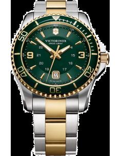 Chic Time | Montre Homme Victorinox Swiss Army Maverick 241605 Bracelet en acier doré et argenté  | Prix : 450,00€
