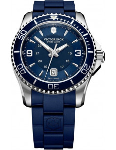 Chic Time | Montre Homme Victorinox Swiss Army Maverick 241603 Bracelet et cadran bleus  | Prix : 350,00€