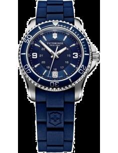 Chic Time | Montre Femme Victorinox Swiss Army Maverick 241610 Bracelet bleu en caoutchouc  | Prix : 341,10€