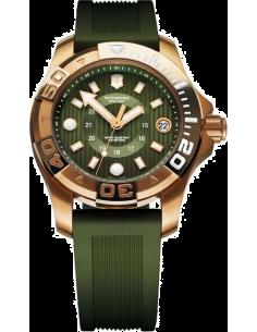 Chic Time | Montre Femme Victorinox Swiss Army Dive Master 500 241557 Bracelet et cadran verts  | Prix : 695,00€