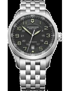 Chic Time | Montre Homme Victorinox Swiss Army AirBoss Mechanical 241508 Bracelet en acier argenté  | Prix : 760,10€