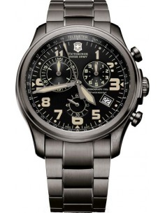 Chic Time | Montre Homme Victorinox Swiss Army Infantry Vintage Chronographe 241289  | Prix : 298,50€