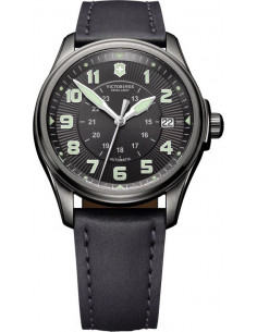 Chic Time | Montre Homme Victorinox Swiss Army Infantry Vintage Mechanical 241518 Bracelet en cuir noir  | Prix : 405,99€