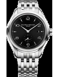 Chic Time | Montre Homme Baume & Mercier Clifton 10100 Bracelet en acier argenté  | Prix : 1,512.50