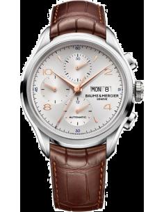 Chic Time | Montre Homme Baume & Mercier Clifton 10129 Cadran argenté  | Prix : 1,842.50