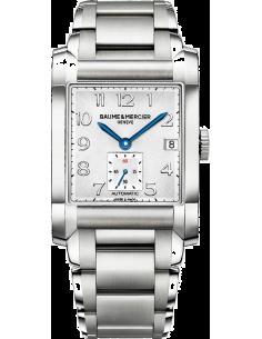 Chic Time | Montre Homme Baume & Mercier Hampton 10047 Bracelet en acier argenté  | Prix : 1,589.50