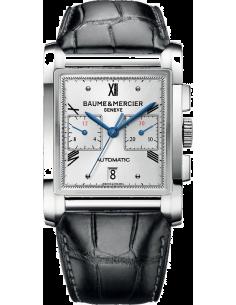 Chic Time   Montre Homme Baume & Mercier Hampton 10032 Cadran argenté    Prix : 4,290.00