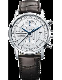 Chic Time | Montre Homme Baume & Mercier Classima 8692 Bracelet en cuir croco brun  | Prix : 1,589.50