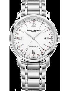 Chic Time | Montre Homme Baume & Mercier Classima 8734 Bracelet en acier argenté  | Prix : 1,240.25
