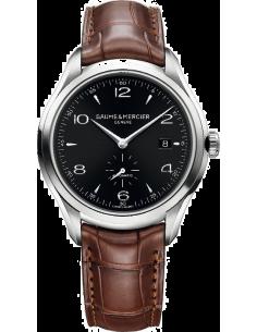 Chic Time | Montre Homme Baume & Mercier Clifton 10053 Cadran noir  | Prix : 1,457.50