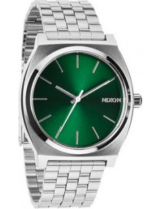 Chic Time | Montre Femme Nixon The Time Teller A045-1696 à Cadran vert brillant  | Prix : 159,00€