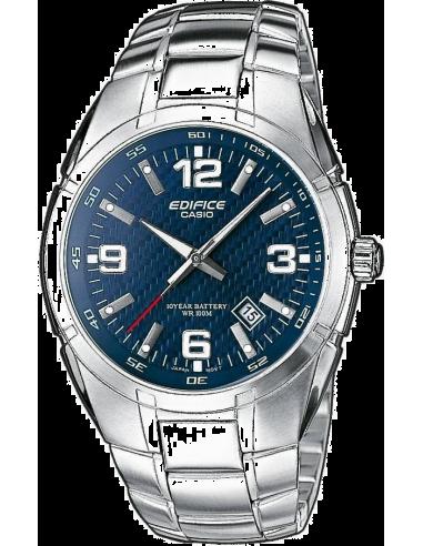 Chic Time   Montre Homme Casio EF-125D-2AVEF Argent    Prix : 63,00€