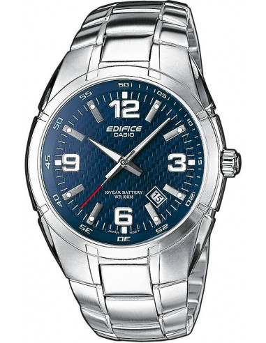 Chic Time | Montre Homme Casio EF-125D-2AVEF Argent  | Prix : 63,00€