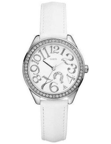 Chic Time | Montre Guess Femme Quiz Blanche G75960L  | Prix : 159,90€