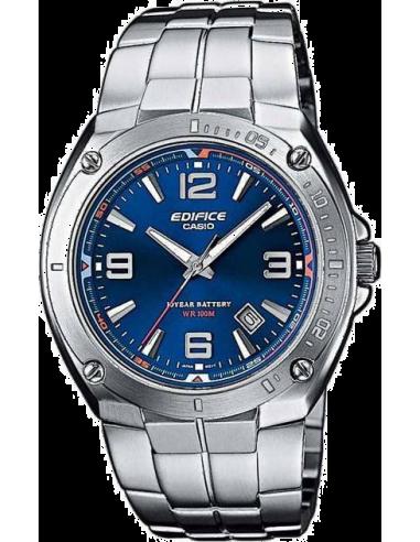 Chic Time | Montre Montre Homme Casio Edifice EF-126D-2AVEF Bracelet Argenté En Acier Inoxydable  | Prix : 62,00€