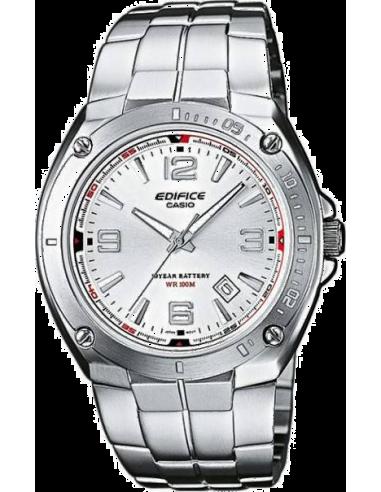 Chic Time | Montre Homme Casio Edifice EF-126D-7AVEF Argent  | Prix : 59,00€