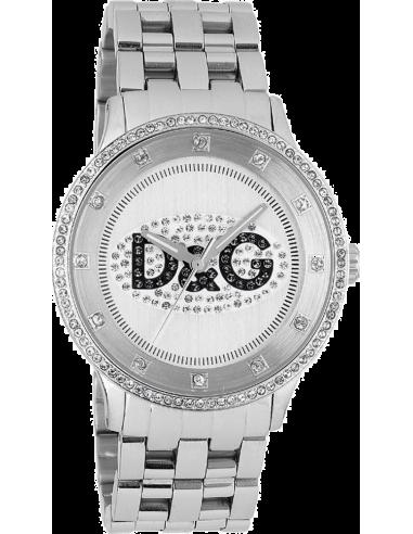 Chic Time   Montre Femme Dolce & Gabbana DW0145 Argent    Prix : 67,25€