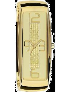 Chic Time | Montre Femme Dolce & Gabbana DW0234 Boîtier doré et rectangulaire  | Prix : 70,00€