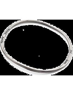 Chic Time | Bracelet Mixte Breil Tribe TJ0603 en acier argenté  | Prix : 12,87€