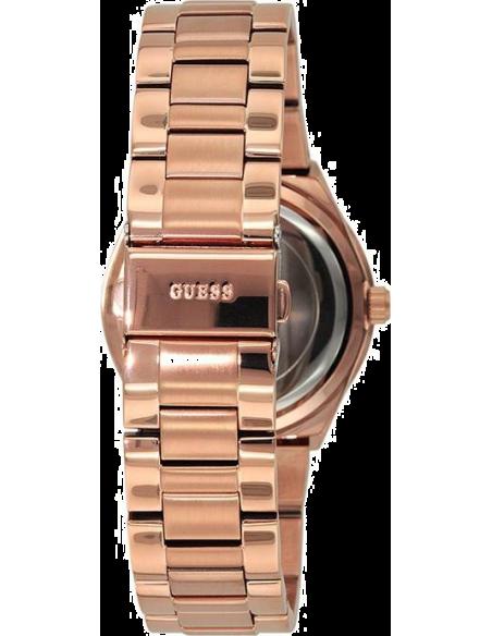 Chic Time | Montre Femme Guess Mini Spectrum W0122L3 Or rose & Strass  | Prix : 229,00€