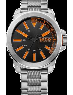 Chic Time | Montre Homme Boss Orange New York 1513006 Bracelet en acier inoxydable   | Prix : 194,65€