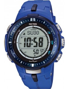 Chic Time | Montre Homme Casio ProTrek PRW-3000-2BER Bleu  | Prix : 229,90€